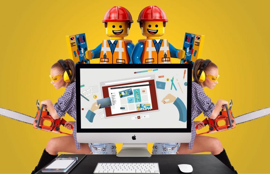 Почему не стоит создавать сайт на конструкторе